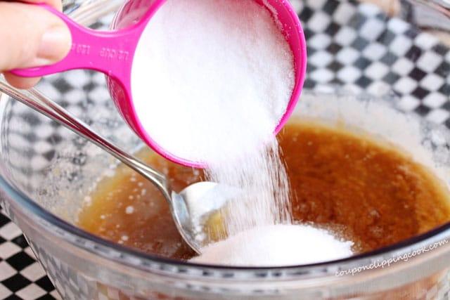 Add Sugar in Bowl