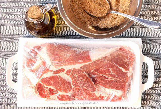 Chipotle Pulled Pork Ingredients