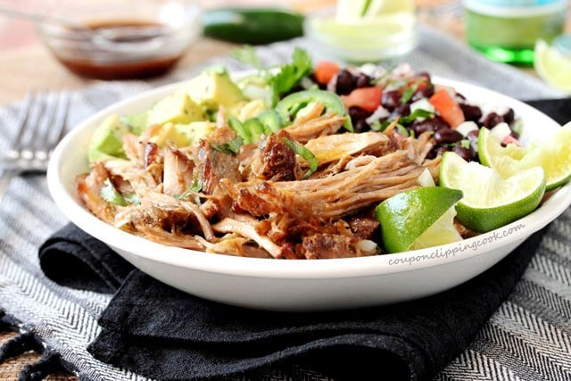 Chipotle Pulled Pork on plate