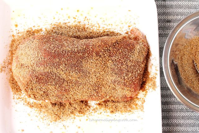 Chipotle Dry Rub on Pork