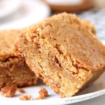 Biscoff Cookie Butter Blondie Recipe
