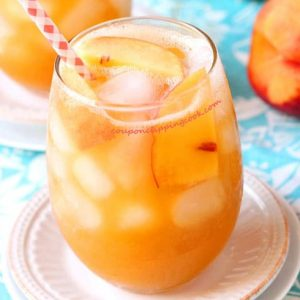 Peach Tea Agua Fresca