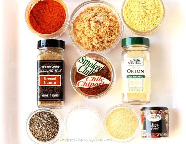 Chipotle dry rub ingredients