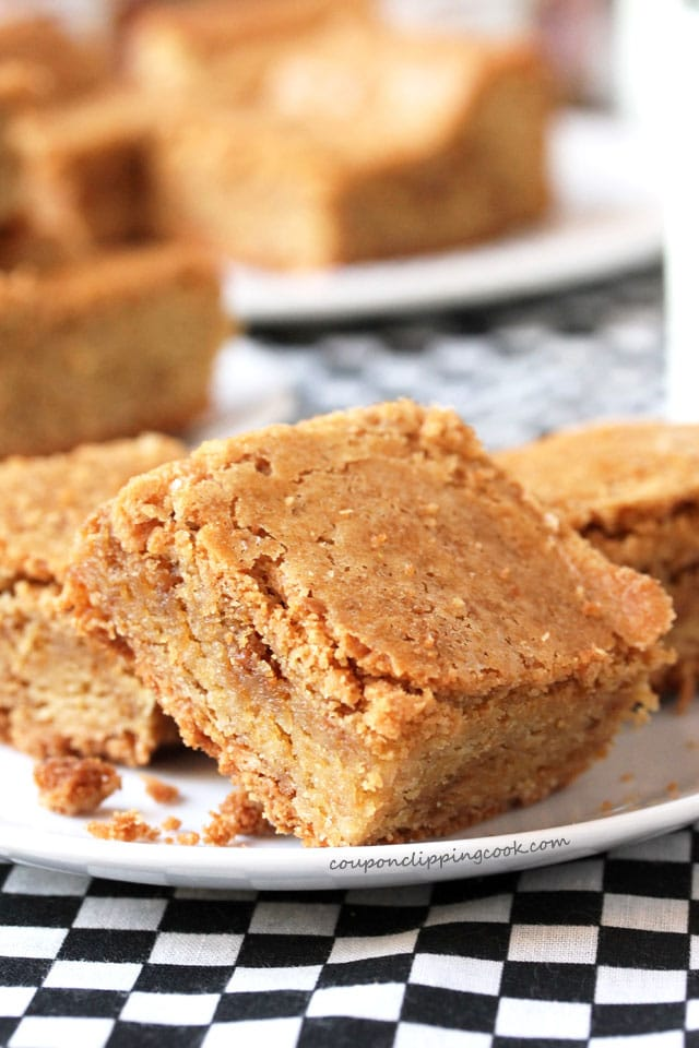 Biscoff Cookie Butter Blondies