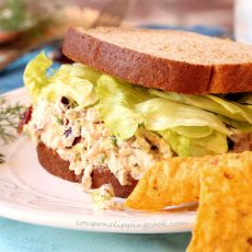 Tuna Salad Sandwich with Dill