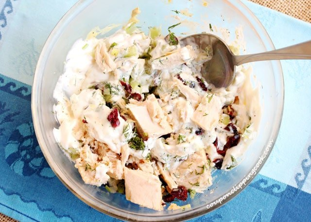 Tuna Salad with Cranberries