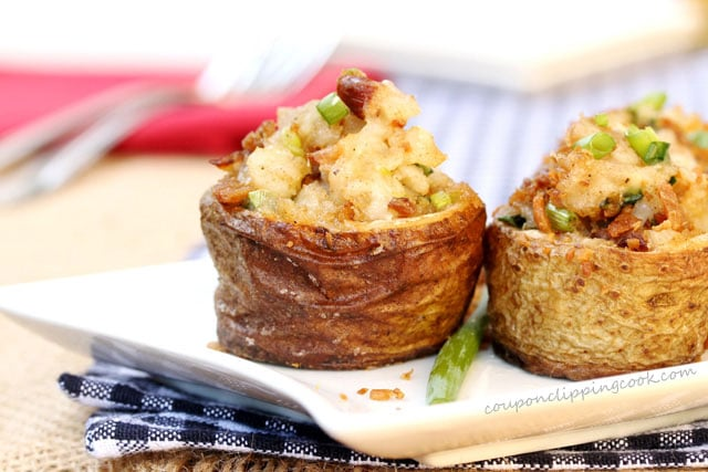 Browned Butter Bacon Cheese Potato Bites