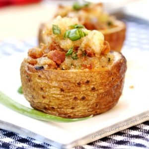 Browned Butter Bacon Potato