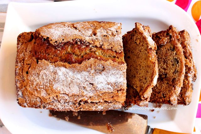 Spice Tea Banana Bread on Plate