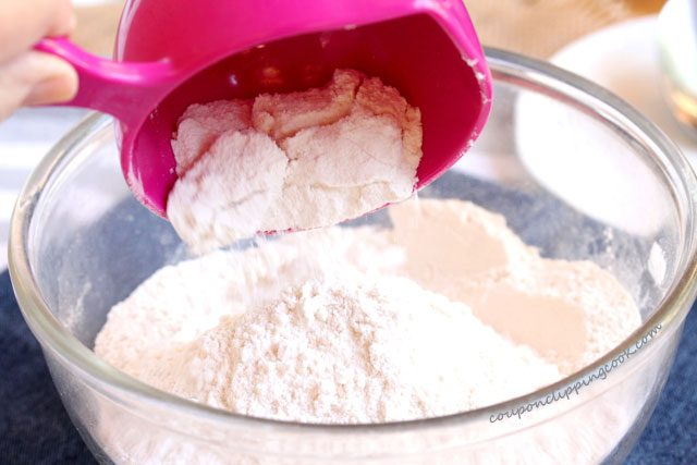Add Flour to Bowl