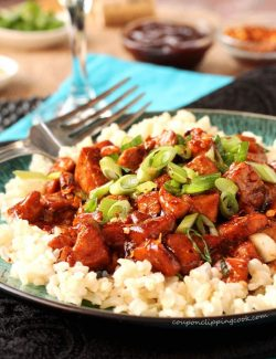 Easy Barbecue Chicken with Rice