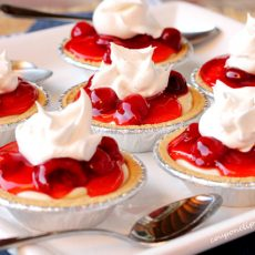 Cherry cheese pie tarts