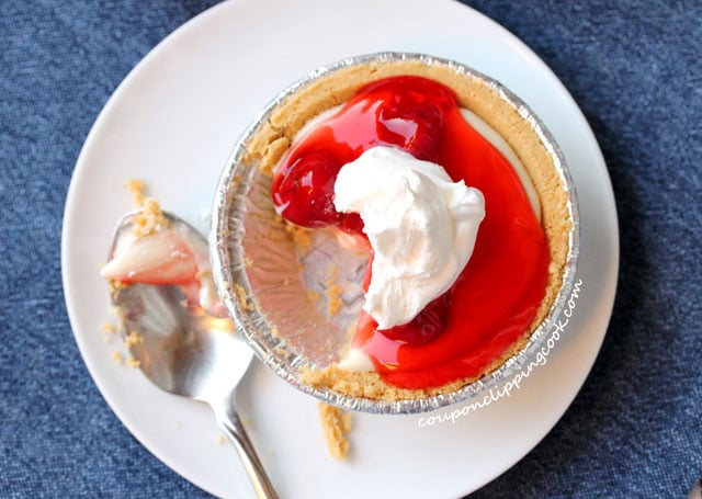 Cherry cheese pie tart