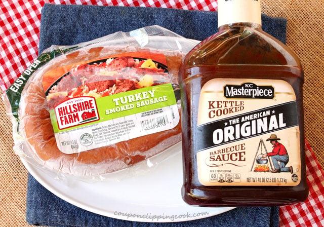 BBQ Smoked Sausage Ingredients