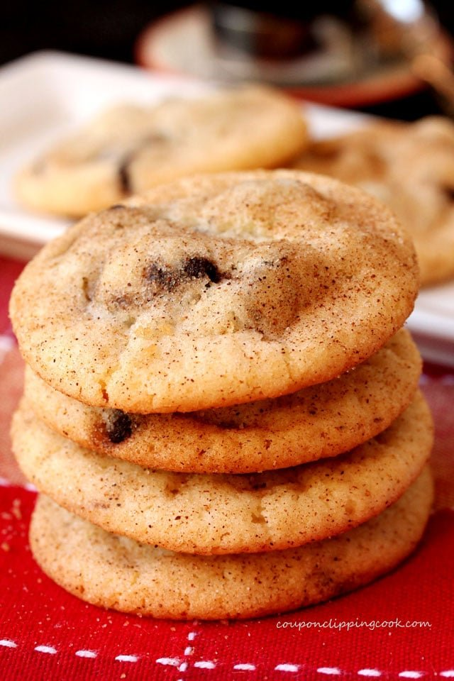 Expresso Chip Snickerdoodle Cookies