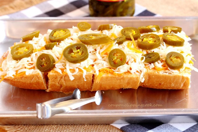 Jalapeno and Cheese on Bread