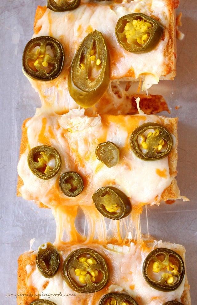 Cheesy Jalapeno Garlic Bread