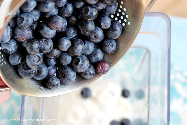 Add Blueberries in Blender