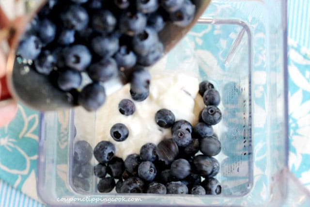Add Blueberries to Blender