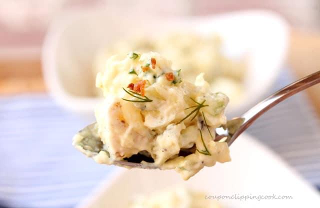 Spoon of Potato Salad