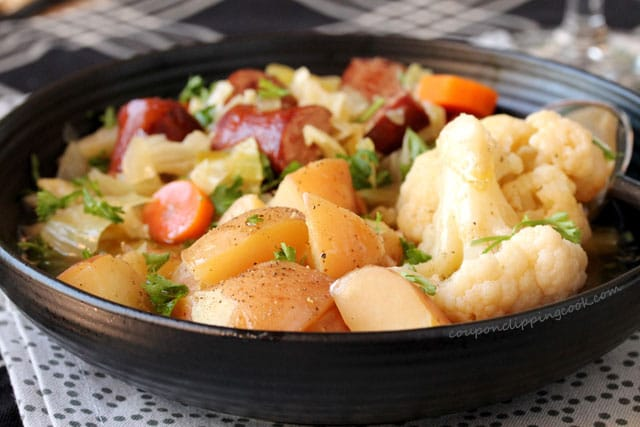Smoked Sausage Potatoes Vegetables