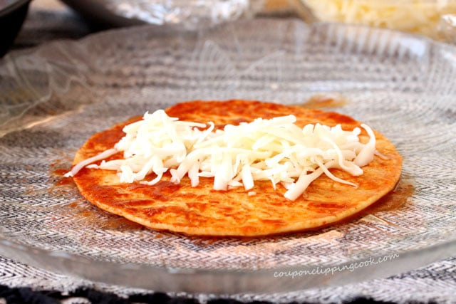 Cheese on Tortillas
