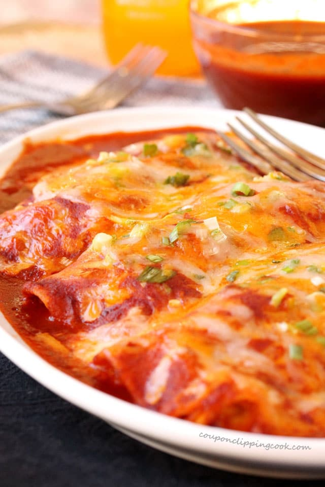 Chicken and Cheese Enchiladas
