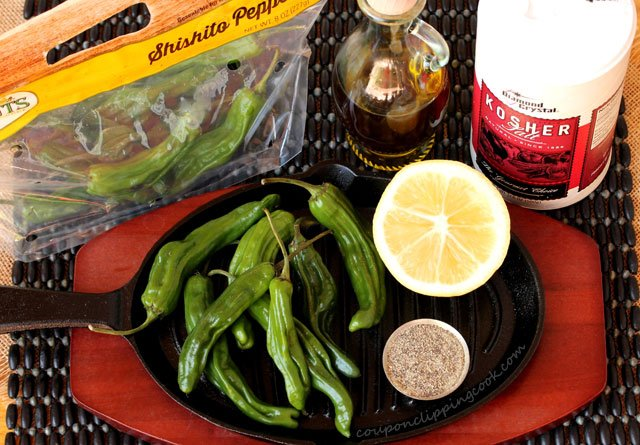 Blistered Shishito Pepper ingredients