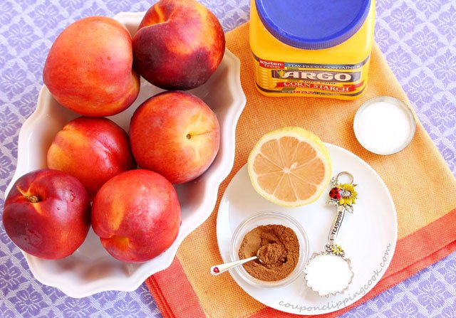 Peach Cobbler Ingredients