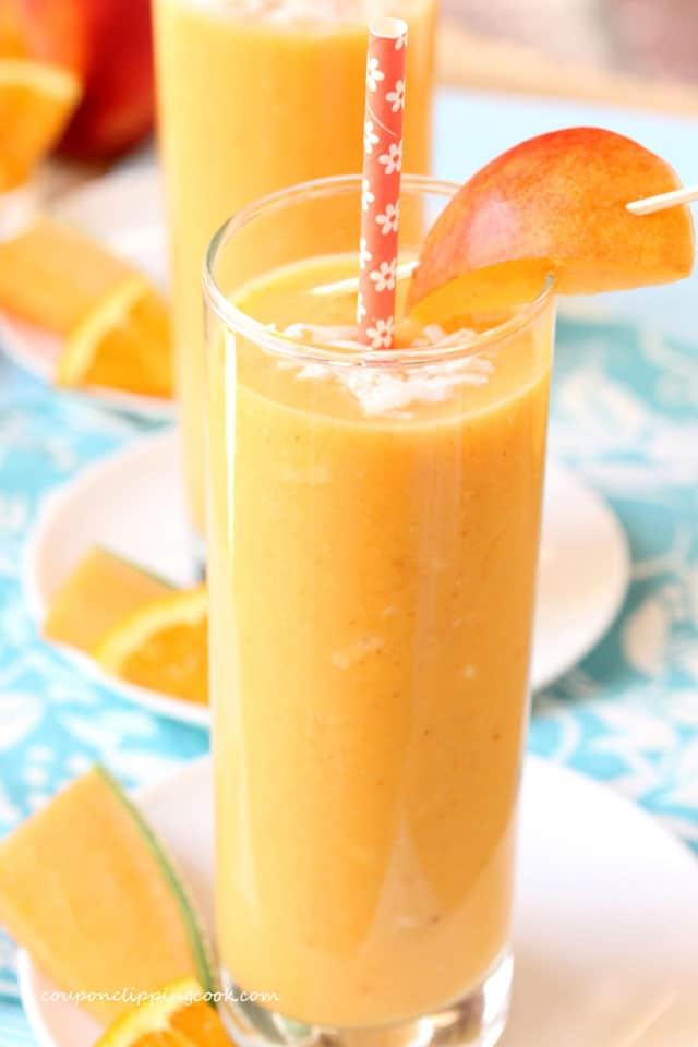 Nectarine and Cantaloupe Smoothie