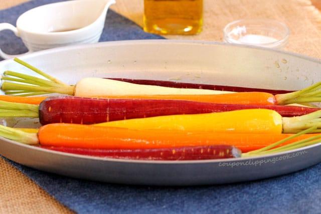 Carrots in skillet