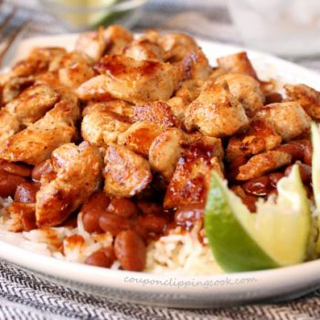 Spicy Chicken Beans and Rice