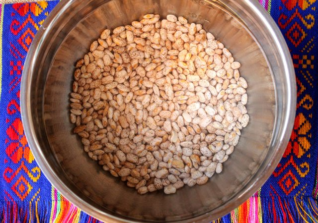 Pinto Beans in Water