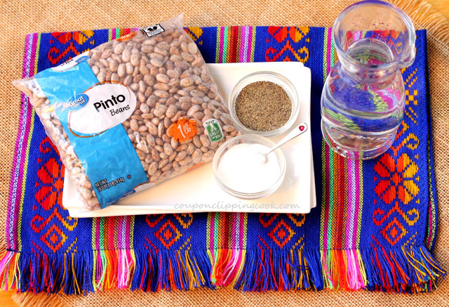 Pinto Beans Ingredients