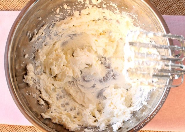 Whipped Cream Cheese in Bowl