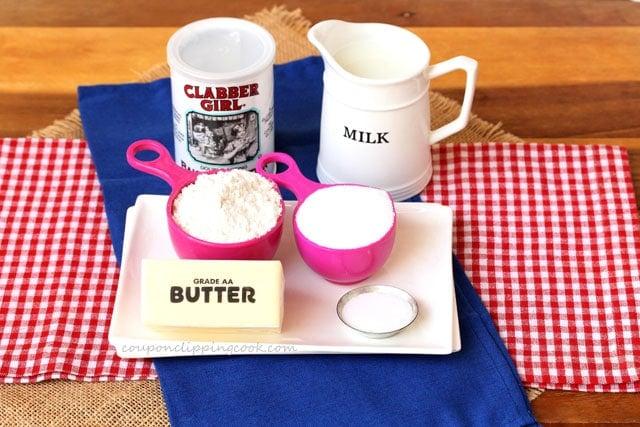 Cobbler Topping Ingredients